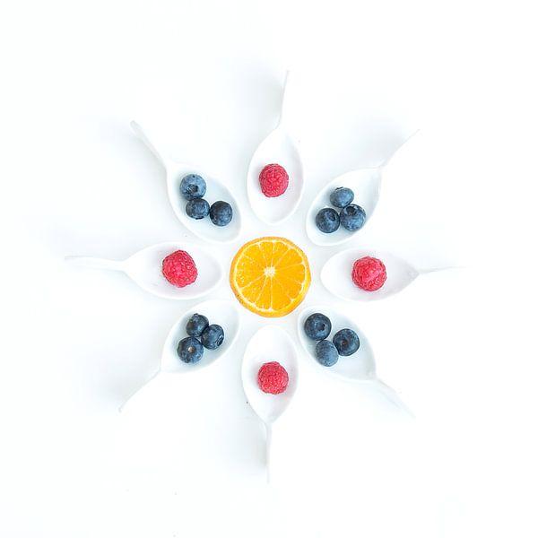 fruit rond II sur Klaartje Majoor