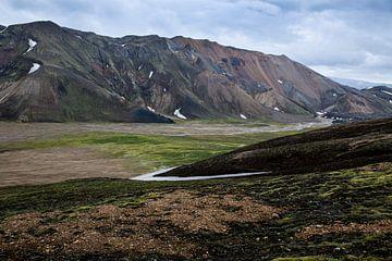 Mountains in Landmannalaugar von Ab Wubben