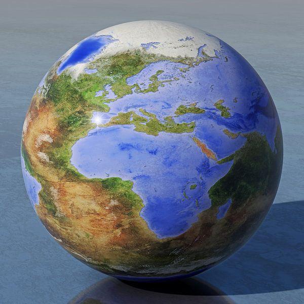 De omgekeerde wereld - Europa en Afrika van Frans Blok