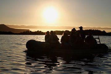 zonsondergang uitstapje Galapagos von Marieke Funke