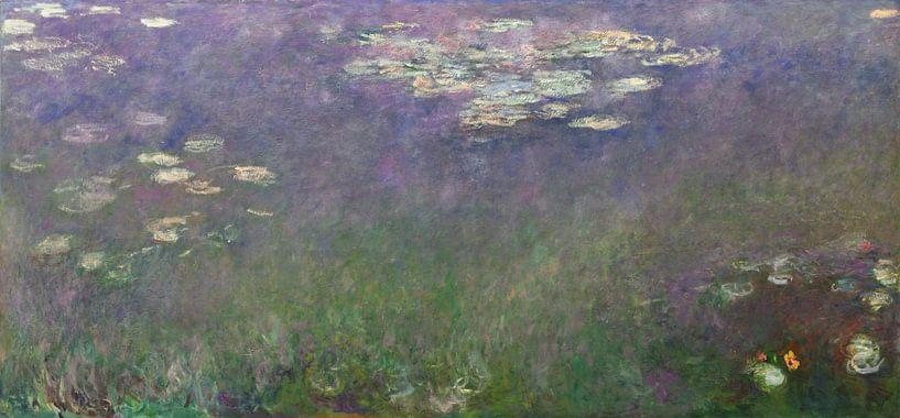 Seerosen (Agapanthus), Claude Monet von Meesterlijcke Meesters