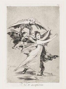 FRANCISCO GOYA, Du sollst nicht entkommen, 1797-1798