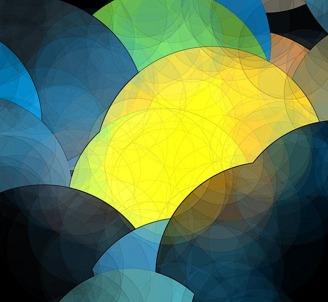Circles N.3 van Oliver P_Art