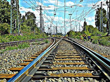"""""""railways""""  van Pascal Engelbarts"""