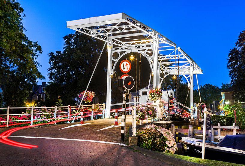 Ophaalbrug in Vreeland van Jan van Dasler