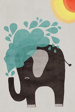 waterolifant van