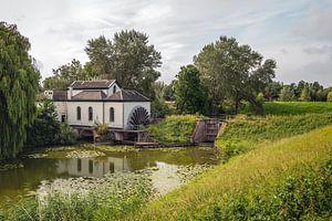 Oud gemaal bij het Nederlandse dorp Acquoy van