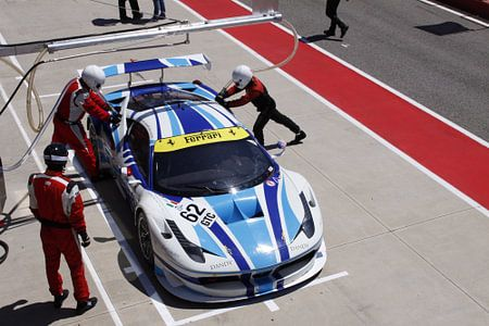 Pitstop Ferrari 458