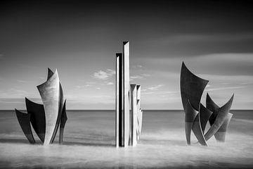 Omaha beach monument les Braves van Antwan Janssen