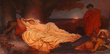 Cymon und Iphigenie, Frederic Leighton.