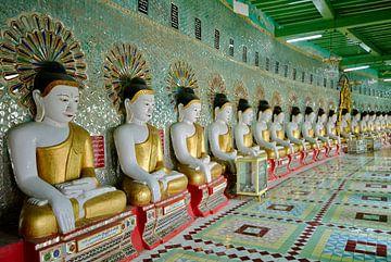 Umin Thonze Pagoda van Jürgen Ritterbach