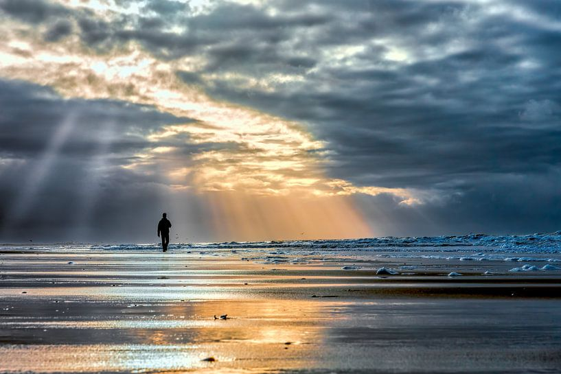 lopend langs de noordzeekust van eric van der eijk