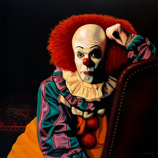Pennywise schilderij van Paul Meijering