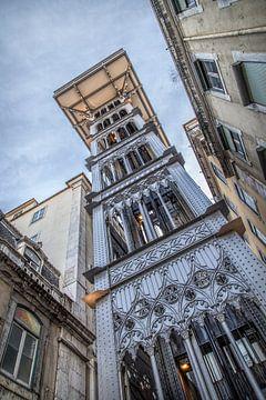 Lissabon 8 - Elevador de Santa Justa van
