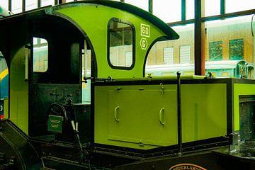 Spoorwegmuseum - groene loc van Wout van den Berg