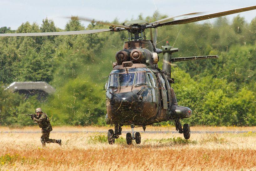 Koninklijke Luchtmacht AS532 Cougar van Dirk Jan de Ridder