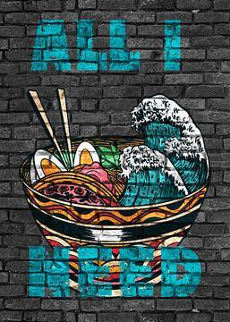Anime Ramen Noodles Alles was ich brauche von KalliDesignShop