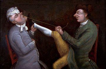 Komisch, der Zahnarzt - John Collier von Atelier Liesjes