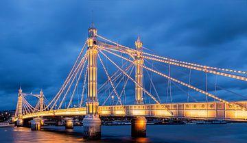 Albert Bridge, London van Adelheid Smitt