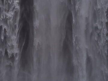 gordijn van water van Timon Schneider