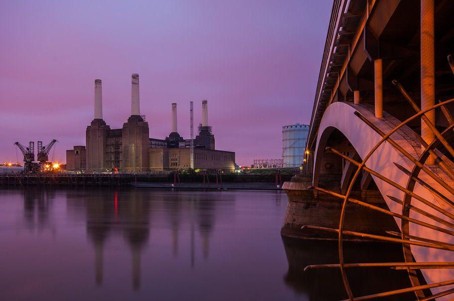 Londen Battersea Power Station van Bert Beckers
