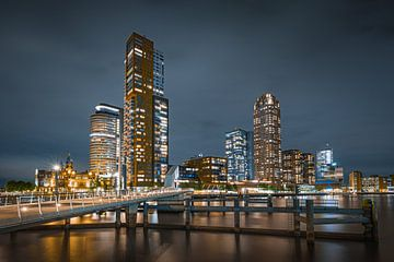 Der Kop van Zuid in Rotterdam von Original Mostert Photography