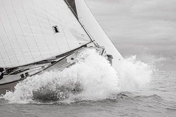 Durch die Wellen des IJsselmeers von ThomasVaer Tom Coehoorn