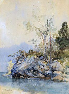 Eibsee, EDWARD THEODORE COMPTON, 1881 von Atelier Liesjes