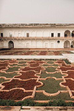 Die Gärten des Kastells von Agra | Indien, Asien | Reisefotografie von Lotte van Alderen