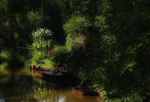 Spreewaldlandschaft van