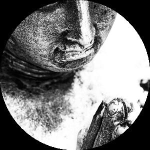 Boeddha van Jacqueline Lodder