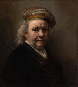 Zelfportret, Rembrandt van Rijn van Rembrandt van Rijn