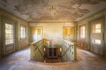Verlassenes Treppenhaus von Roman Robroek