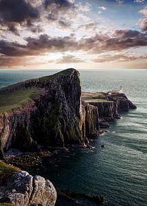 Leuchtturm, Schottland von Edwin Kooren