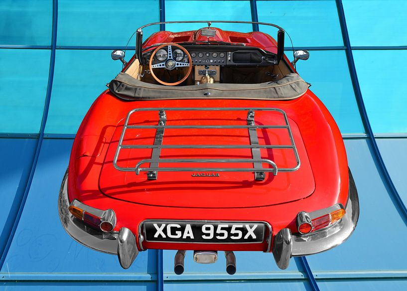 Jaguar E-Type Series 1 Roadster in Originalfarbe von aRi F. Huber