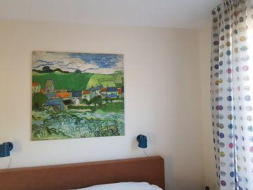 Kundenfoto: Vincent van Gogh, Ansicht von Auvers