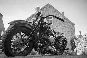 Harley Davidson in Zwart en Wit van anne droogsma