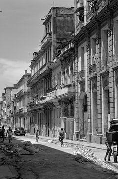 Spelen in vervallen Havana van Zoe Vondenhoff