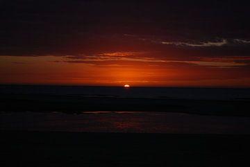 Zonsondergang von Jan Linschoten