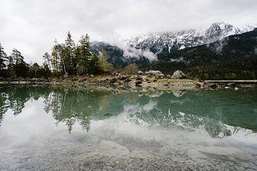 Réflexion - Eibsee, Bavière, Allemagne sur Wianda Bongen