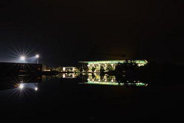 Volkswagen Arena bij nacht van Marc-Sven Kirsch