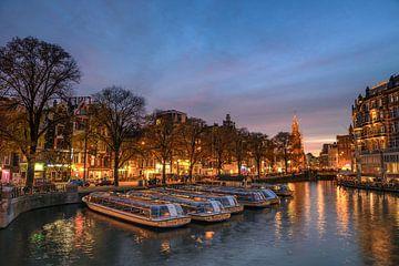 Amsterdam Munttoren  van Angel Flores