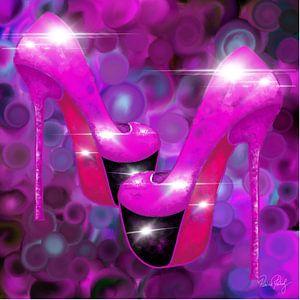 Abstrakte Kunst - Party Time High Heels