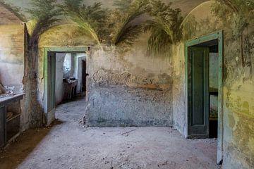 Keller mit Wandmalereien von Perry Wiertz