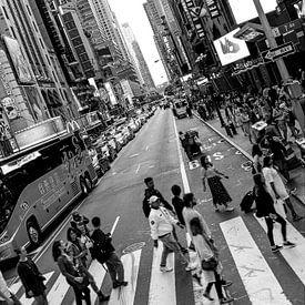 Streets of New York van Iwan Bronkhorst