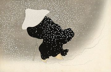 Wirbelnder Schnee, Kamisaka Sekka