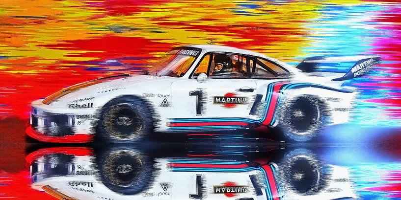 Ickx'n'Porsche - A Perfect Partnership Version III von Jean-Louis Glineur alias DeVerviers