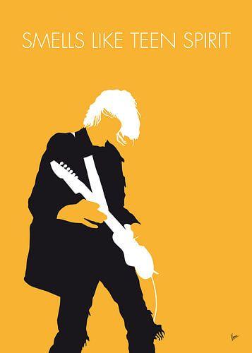 No004 MY Nirvana Minimal Music poster