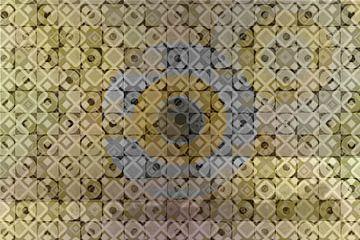 Bullseye, patroon van Rietje Bulthuis