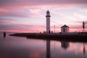 Lighthouse Hellevoetsluis von Miranda van Hulst